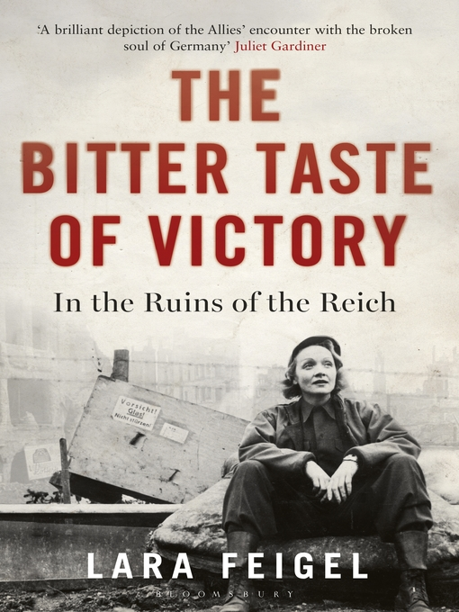 Title details for The Bitter Taste of Victory by Lara Feigel - Available