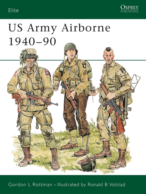 US Army Airborne 1940-90 - Navy General Library Program Downloadable