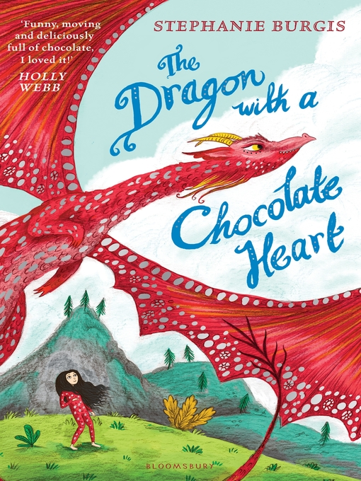 Cover of The Dragon with a Chocolate Heart