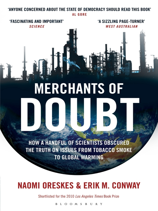 Title details for Merchants of Doubt by Erik M. Conway - Available