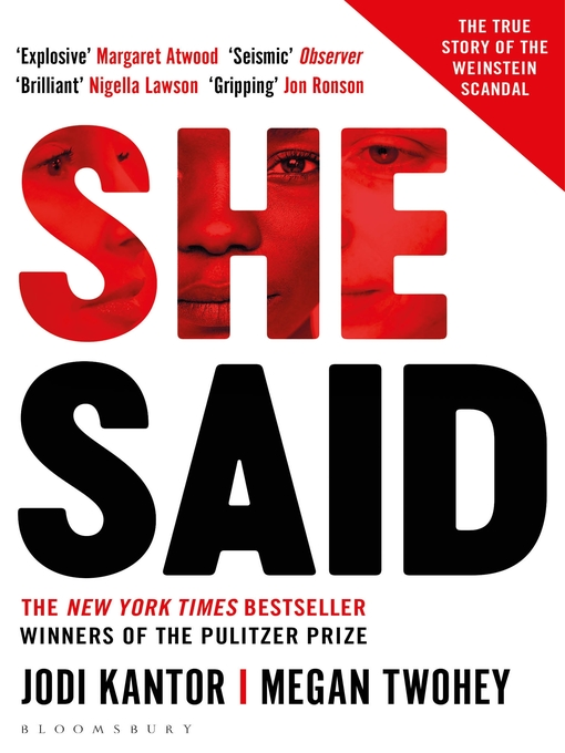 Title details for She Said by Jodi Kantor - Wait list