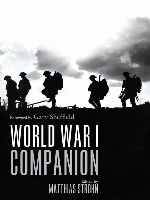 Title details for World War I Companion by Gary Sheffield - Available