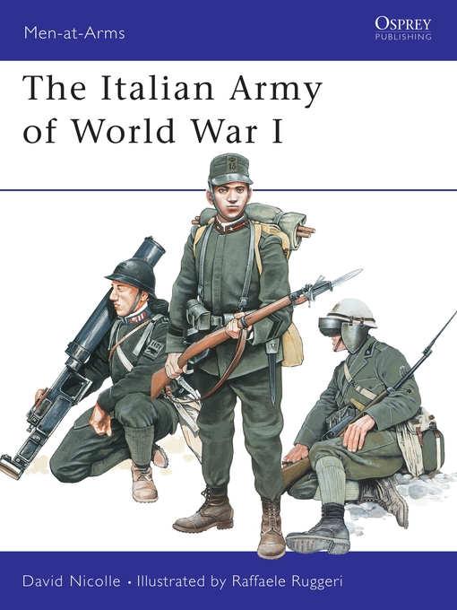 Cover of The Italian Army of World War I