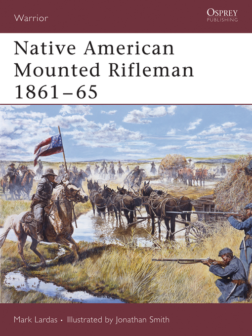 Cover of Native American Mounted Rifleman 1861-65