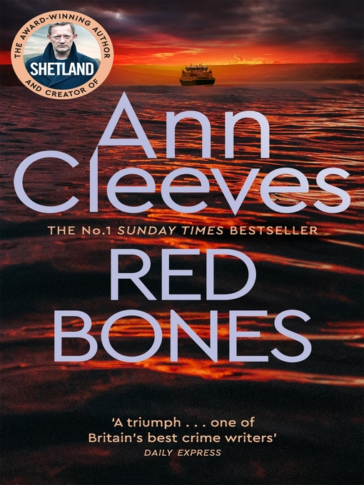 Title details for Red Bones by Ann Cleeves - Wait list