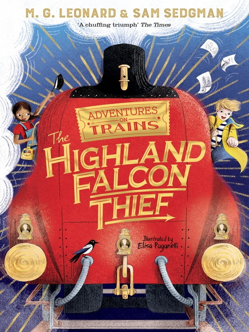 Title details for The Highland Falcon Thief by M. G. Leonard - Wait list