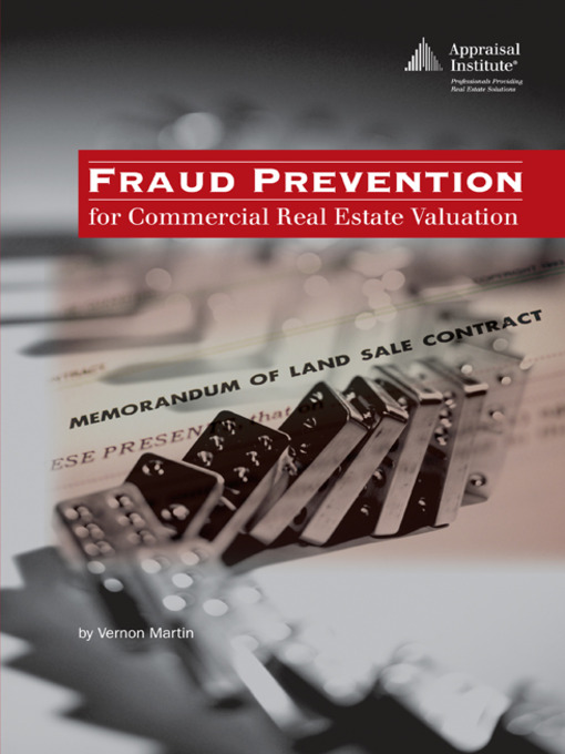 Title details for Fraud Prevention for Commercial Real Estate Valuation by Vernon Martin - Available