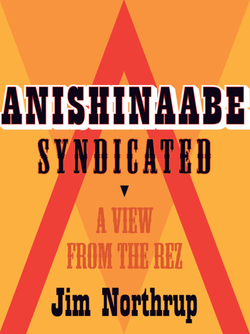 Cover of Anishinaabe Syndicated