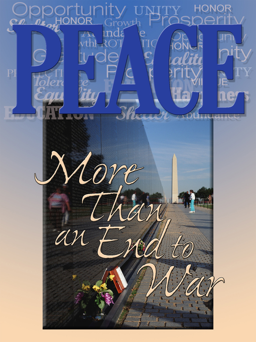 Cover image for book: Peace