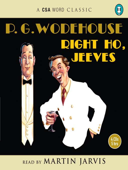 Title details for Right Ho, Jeeves by P. G. Wodehouse - Available