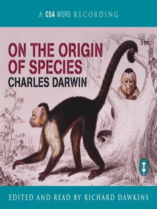 darwin on the origin of species