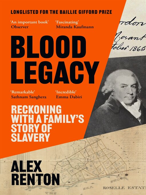 Title details for Blood Legacy by Alex Renton - Available