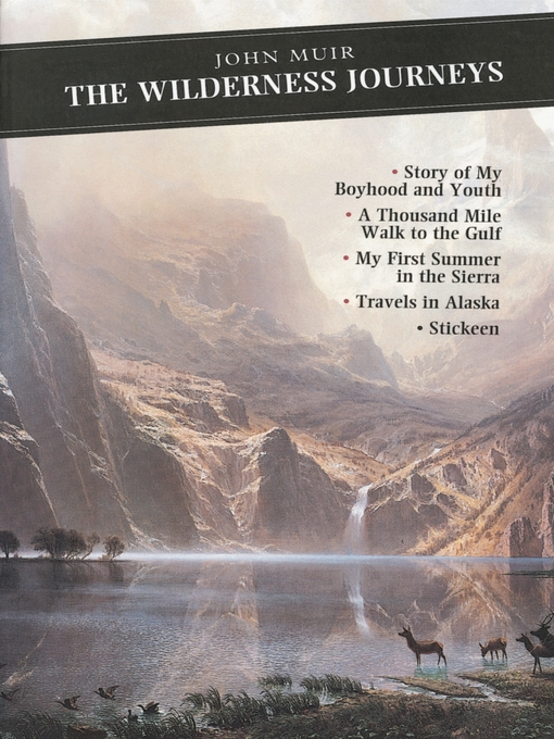 Title details for The Wilderness Journeys by John Muir - Available