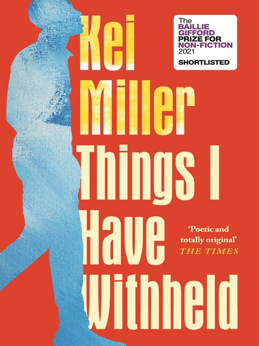 Title details for Things I Have Withheld by Kei Miller - Available