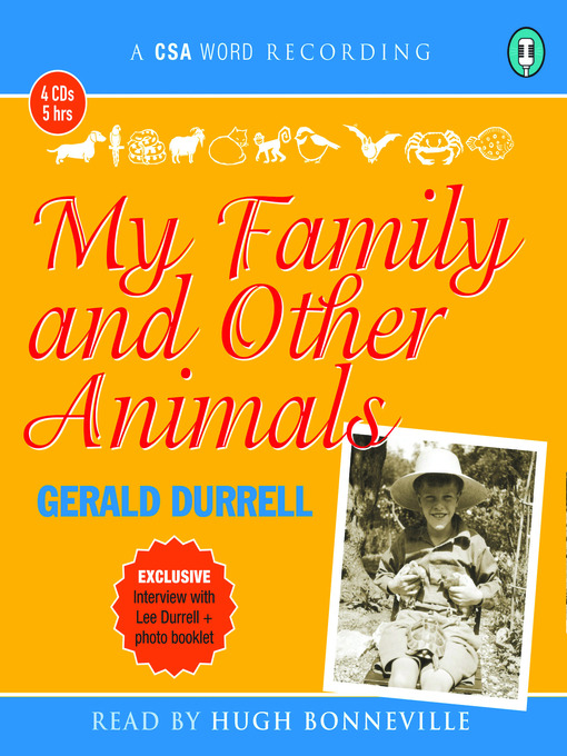 Title details for My Family and Other Animals by Gerald Durrell - Available