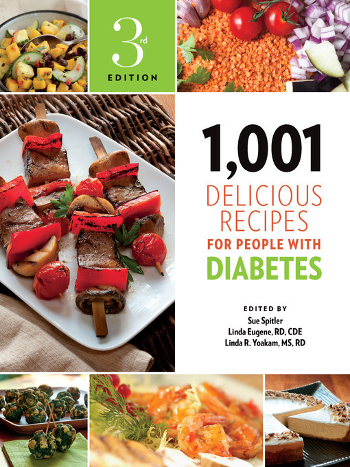Title details for 1,001 Delicious Recipes for People with Diabetes by Sue Spitler - Available