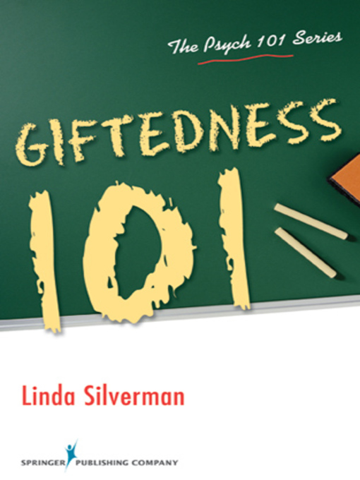 Title details for Giftedness 101 by Linda Kreger Silverman - Available