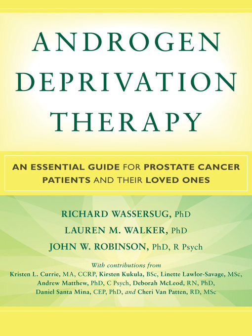 Title details for Androgen Deprivation Therapy by Kristen L. Currie - Available