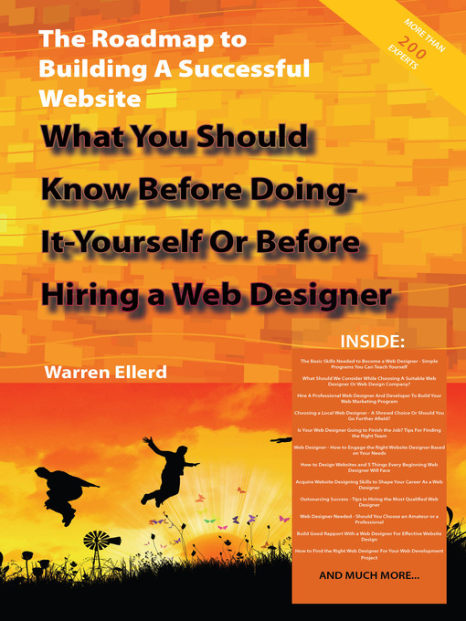 Title details for The Roadmap to Building A Successful Website - What You Should Know Before Doing-It-Yourself Or Before Hiring a Web Designer by Warren Ellerd - Available