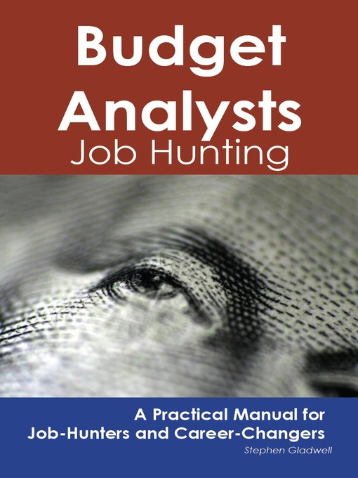 Budget Analysts Job Hunting A Practical Manual For Job Hunters