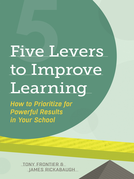 Cover of Five Levers to Improve Learning