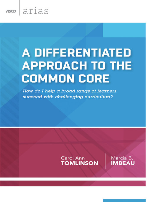 A Differentiated Approach To The Common Core Ok Virtual Library