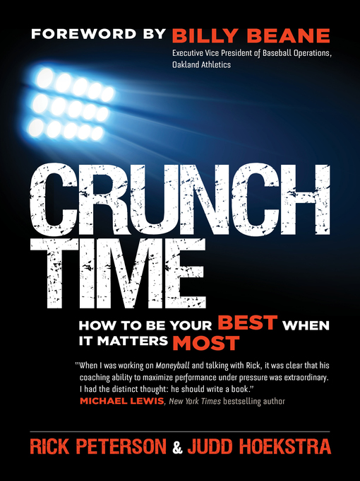 Title details for Crunch Time by Rick Peterson - Wait list