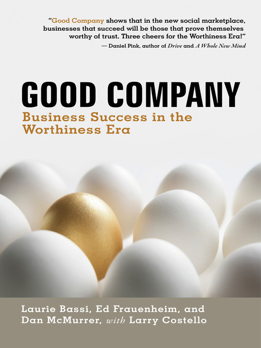 Title details for Good Company by Laurie Bassi - Available