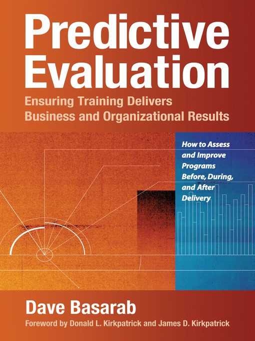 Predictive Evaluation Ensuring Training Delivers Business and Organizational Results
