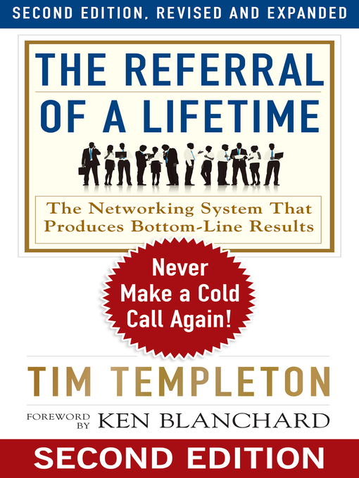 Title details for The Referral of a Lifetime by Tim Templeton - Available