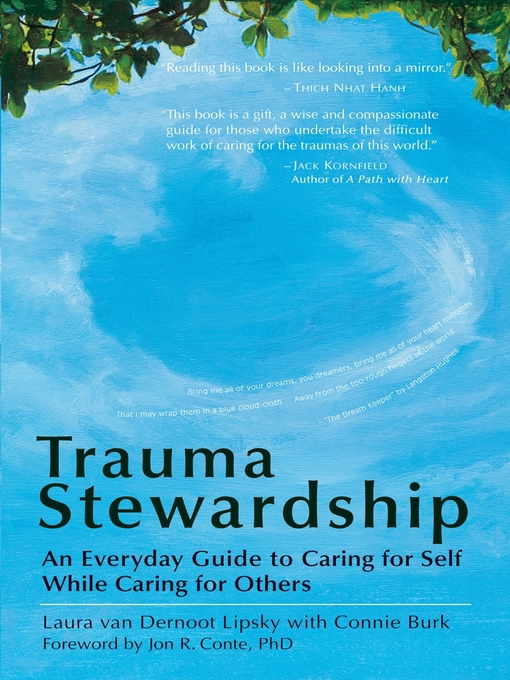 Title details for Trauma Stewardship by Laura van Dernoot Lipsky - Available