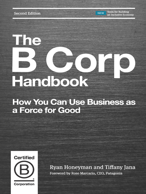 Title details for The B Corp Handbook by Ryan Honeyman - Available