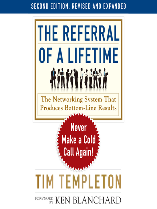 Title details for The Referral of a Lifetime by Tim Templeton - Wait list