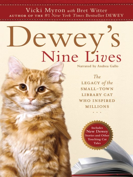 Title details for Dewey's Nine Lives by Bret Witter - Wait list