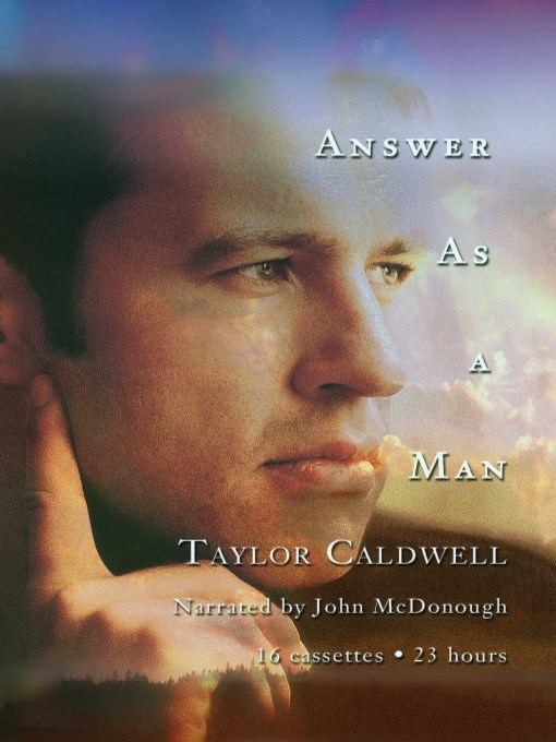 Title details for Answer As a Man by Taylor Caldwell - Available
