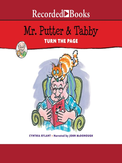 Title details for Mr. Putter & Tabby Turn the Page by Cynthia Rylant - Wait list