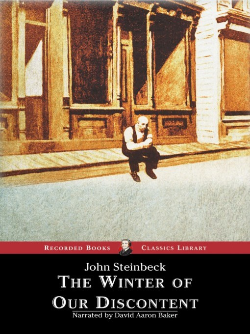 Title details for The Winter of Our Discontent by John Steinbeck - Wait list
