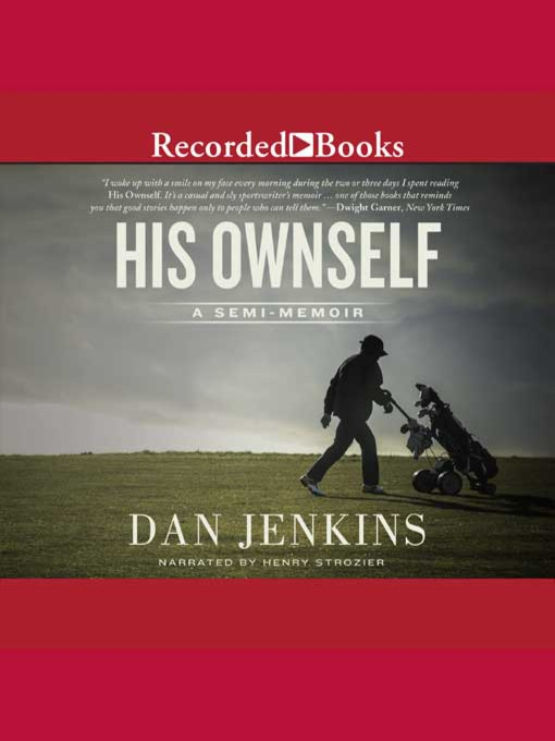 Cover image for His Ownself