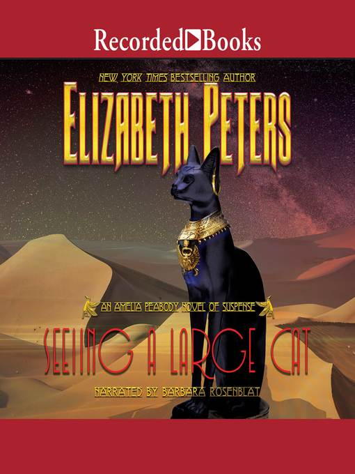 Title details for Seeing a Large Cat by Elizabeth Peters - Available