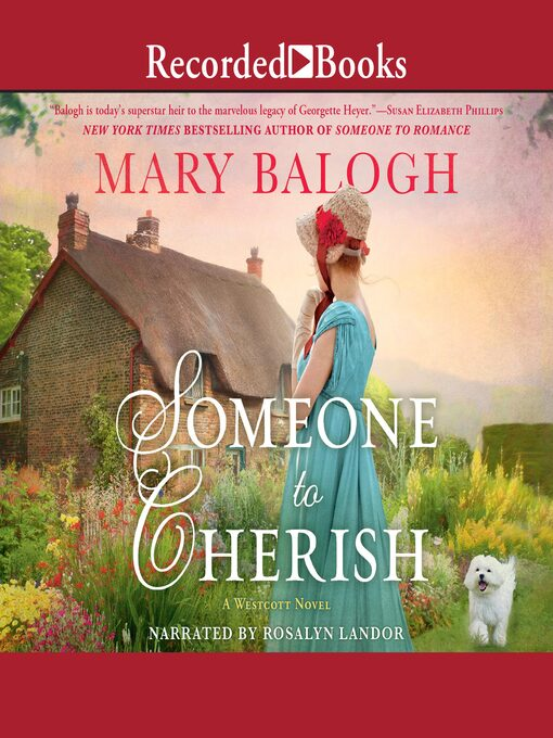 Title details for Someone to Cherish by Mary Balogh - Wait list
