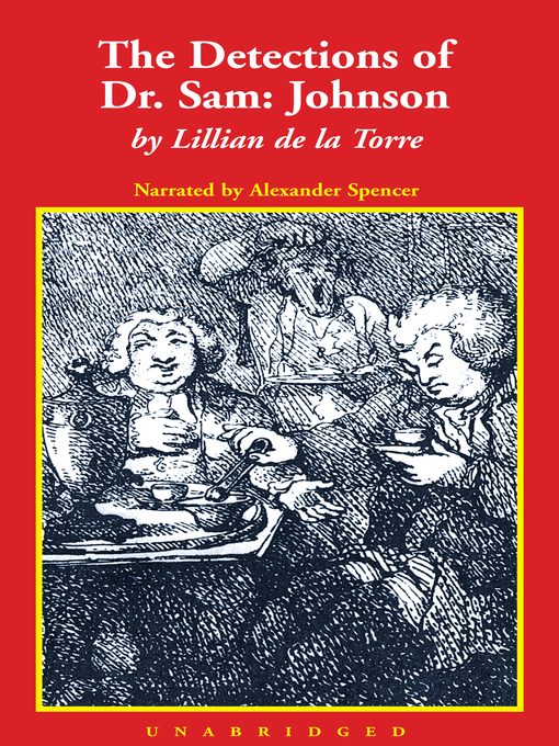 Title details for The Detections of Dr. Sam: Johnson by Lillian de la Torre - Available