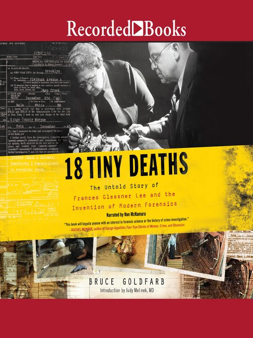Title details for 18 Tiny Deaths by Bruce Goldfarb - Available