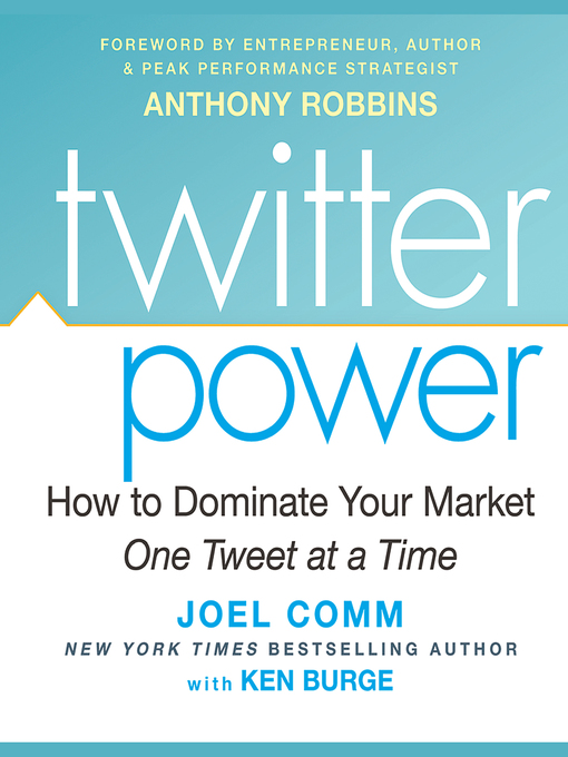 Title details for Twitter Power by Joel Comm - Available