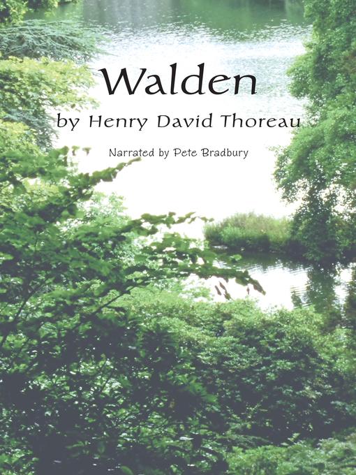 Title details for Walden by Henry David Thoreau - Wait list