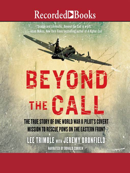 Title details for Beyond the Call by Jeremy Dronfield - Wait list