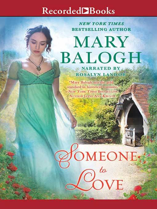 Title details for Someone to Love by Mary Balogh - Available