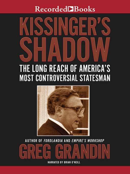 Cover of Kissinger's Shadow