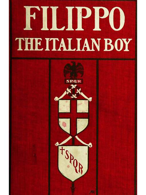 Cover of Filippo, the Italian boy