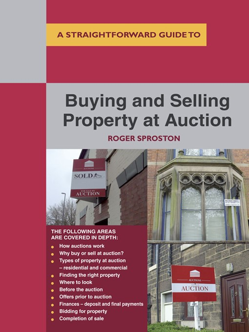 Cover of Buying and Selling Property at Auction