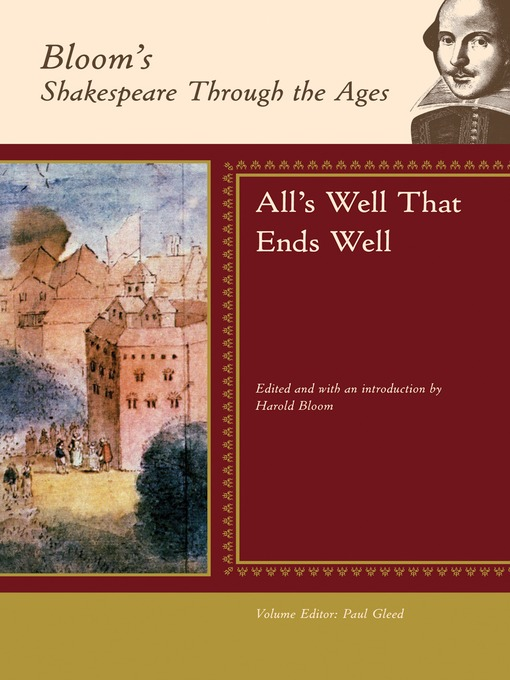 a review of the play alls well that ends well by the chicago shakespeare theater All's well that ends well (review) as in no other play by shakespeare, dominate the action theater cincinnati playhouse.